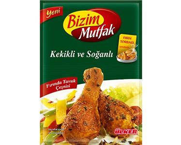 Ülker Bizim Mutfak Kekikli ve Soğanlı Fırında Tavuk Çeşnisi