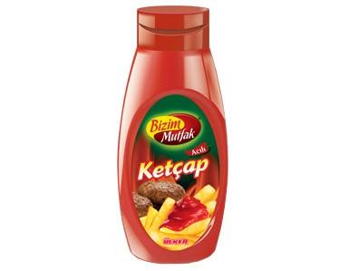 Ülker Bizim Mutfak Ketçap Acılı 420 gr.