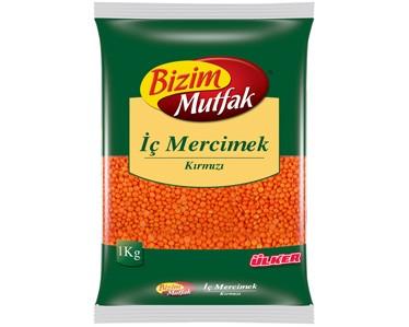 Ülker Bizim Mutfak Kırmızı Mercimek 1000gr