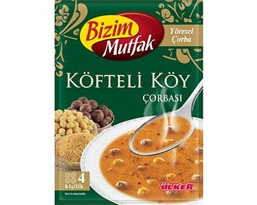 Ülker Bizim Mutfak Köfteli Köy Çorbası