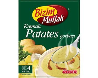 Ülker Bizim Mutfak Kremalı Patates Çorbası