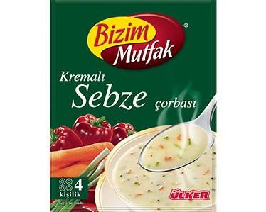 Ülker Bizim Mutfak Kremalı Sebze Çorbası