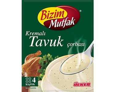 Ülker Bizim Mutfak Kremalı Tavuk Çorbası