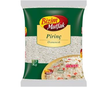 Ülker Bizim Mutfak Osmancık Pirinç 2500gr