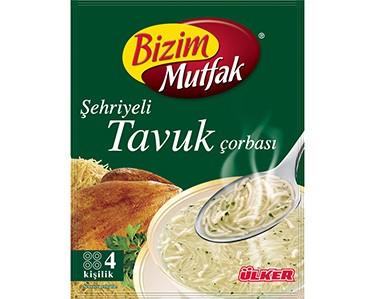 Ülker Bizim Mutfak Şehriyeli Tavuk Çorbası