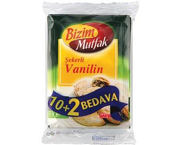 Ülker Bizim Mutfak Şekerli Vanilin 12'li Paket
