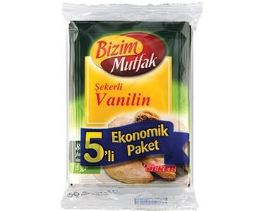Ülker Bizim Mutfak Şekerli Vanilin 5'li Paket