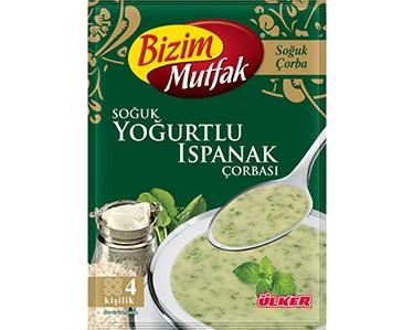 Ülker Bizim Mutfak Soğuk Yoğurtlu Isapanak Çorbası