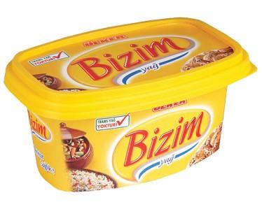 Ülker Bizim Yağ Kase Margarin 250 gr.