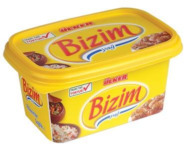 Ülker Bizim Yağ Kase Margarin 500 gr.