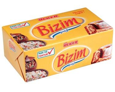 Ülker Bizim Yağ Paket Margarin 250 gr.