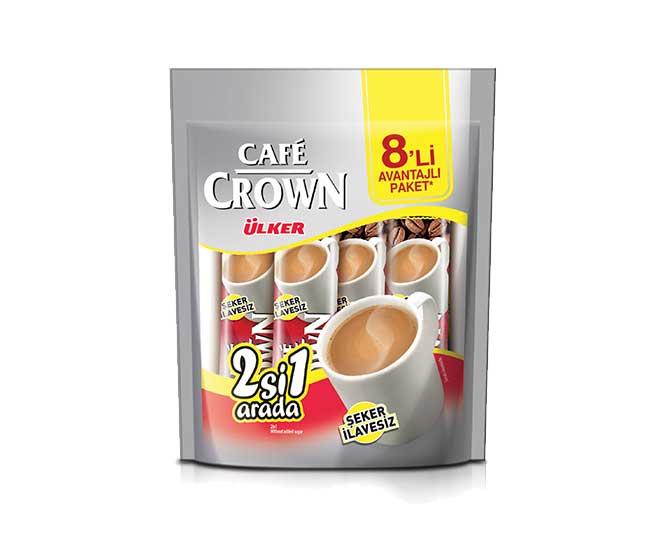 Ülker Café Crown 8'li - 2'si 1 Arada Sade
