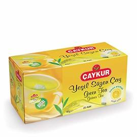 Çaykur Yeşil Süzen Çay Limonlu