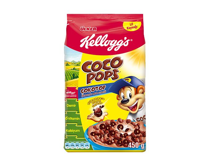 Ülker Coco Pops Çokotop Çikolatalı Mısır Gevreği