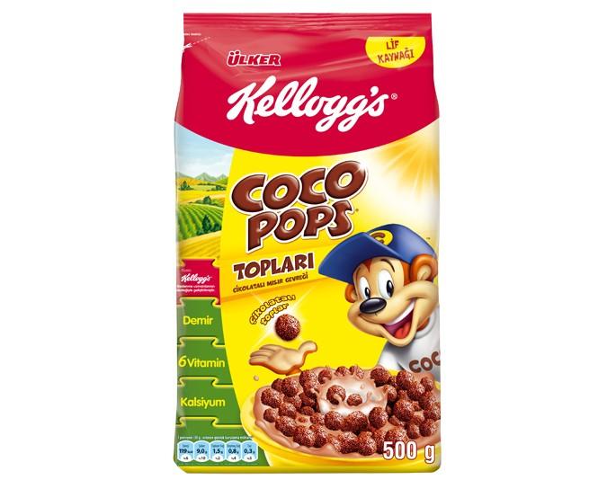 Ülker Coco Pops Topları Çikolatalı Buğday ve Mısır Gevreği