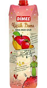 DİMES Küçük Prens Elma-Muz-Çilek