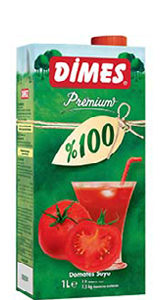 DİMES Premium %100 Domates Suyu