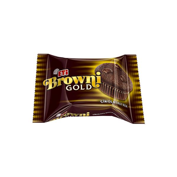 Eti Browni Gold Çikolata Soslu Çikolatalı Kek