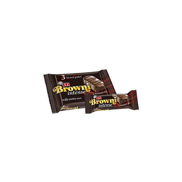 Eti Browni Intense Çikolata Kaplı Krema Dolgulu Kek