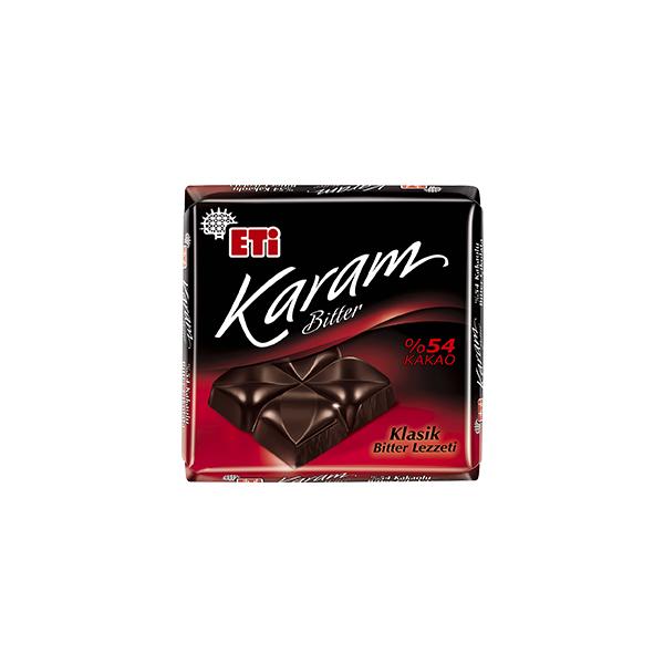 Eti Karam %54 Kakaolu Bitter Çikolata