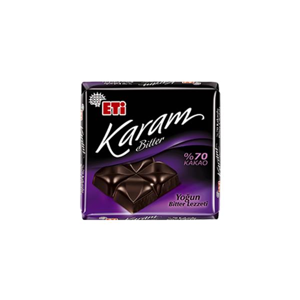 Eti Karam %70 Kakaolu Bitter Çikolata