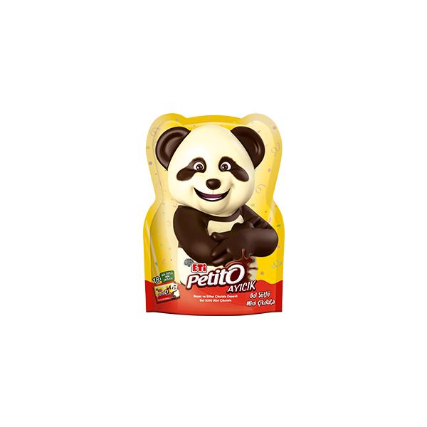 Eti Petito Ayıcık Bol Sütlü Mini Çikolata 18'li