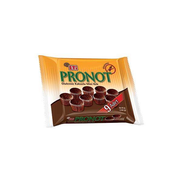 Eti Pronot Glutensiz Kakaolu Mini Kek