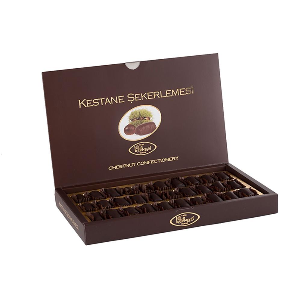 Kafkas Kestane Şekeri Çikolatalı Büyük 560 Gr