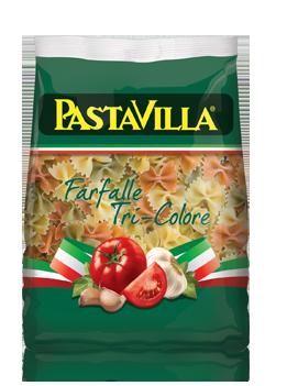 Pastavilla Farfalle Tri-Colore