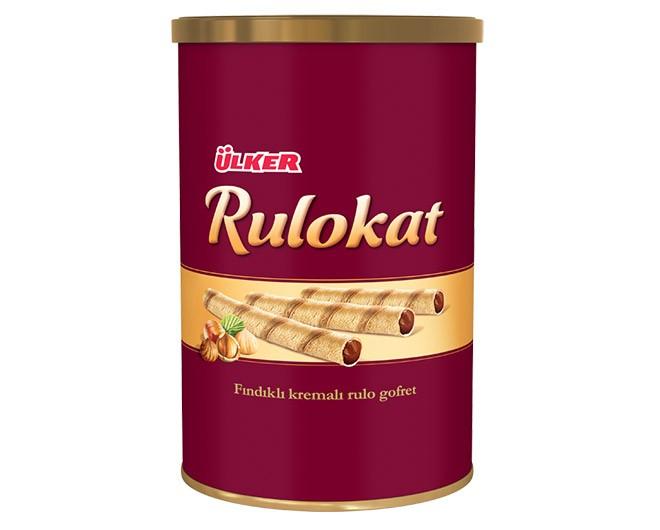 Ülker Rulokat 230g Fındıklı Gofret
