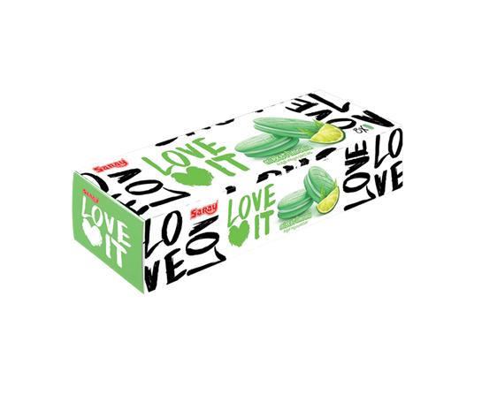 Saray Bisküvi - LoveIt - Misket Limonlu Doğal Meyve Pastası