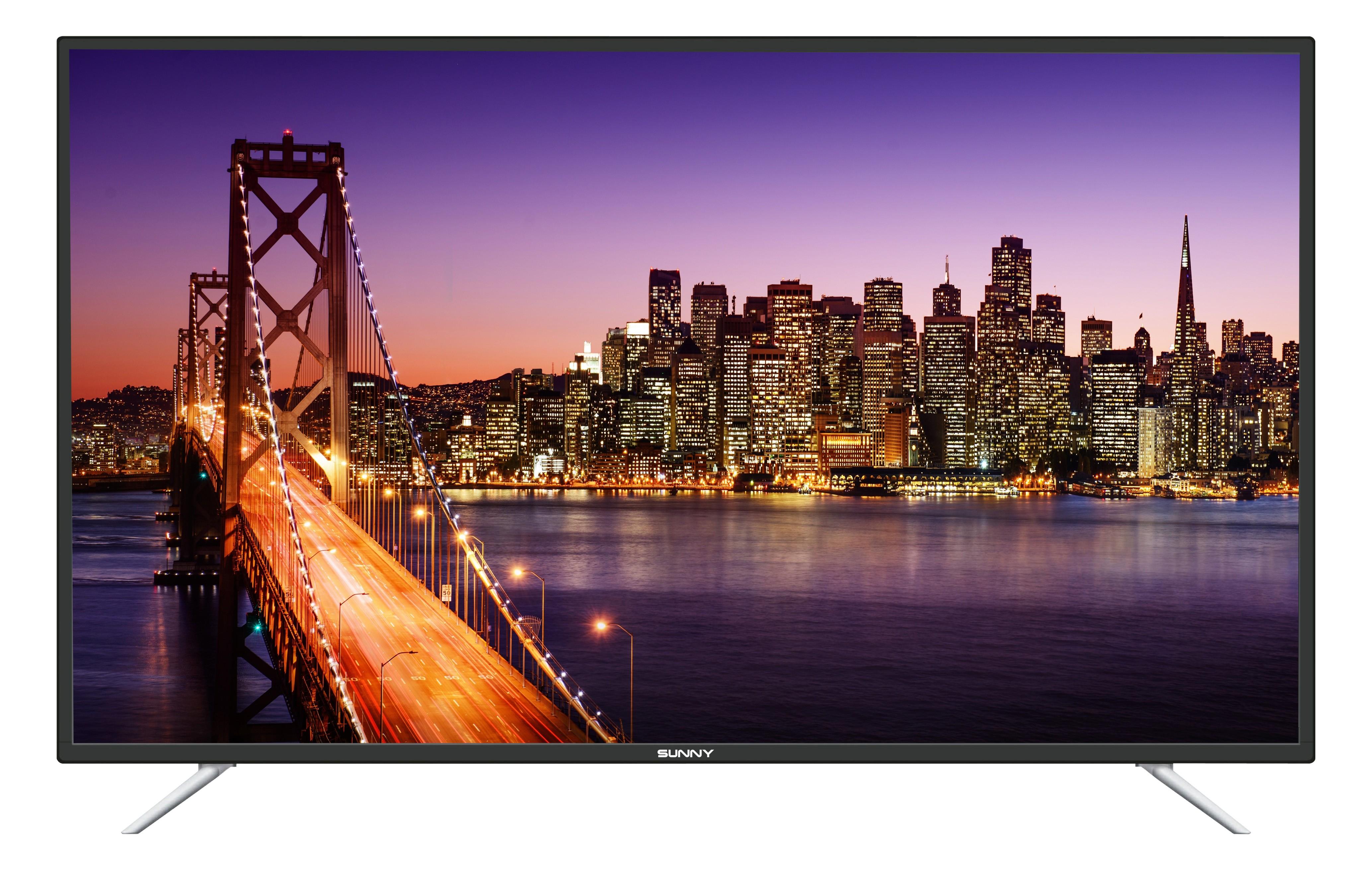 Sunny 55'' SN55LEDA88 Ultra HD Smart Uuydulu LED