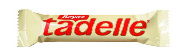 Tadelle Beyaz  Çikolata Kaplı  Fındık Dolgulu  Sütlü Çikolata 30 g