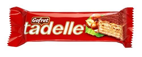 Tadelle Sütlü Çikolata Kaplamalı Fındık Kremalı Gofret 35 g