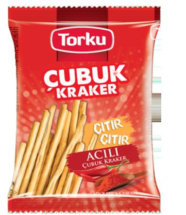 Torku Acılı Çubuk Kraker - 120 gr