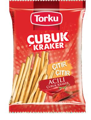 Torku Acılı Çubuk Kraker - 45 gr