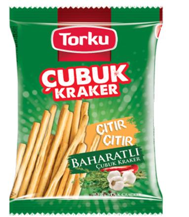 Torku Baharatlı Çubuk Kraker - 120 gr