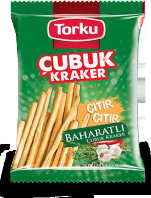 Torku Baharatlı Çubuk Kraker - 45 gr