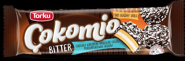 Torku Bitter Çikolata Kaplamalı Marshmallowlu Bisküvi 66 gr