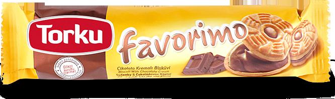 Torku Favorimo Çikolata Kremalı Bisküvi 68 gr