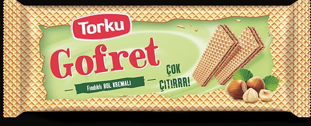 Torku Gofret Fındık Kremalı 142 gr