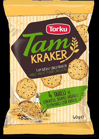 Torku Tam Buğday Unlu Kraker