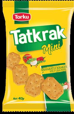 Torku Tatkrak Baharatlı Kraker - 40 gr